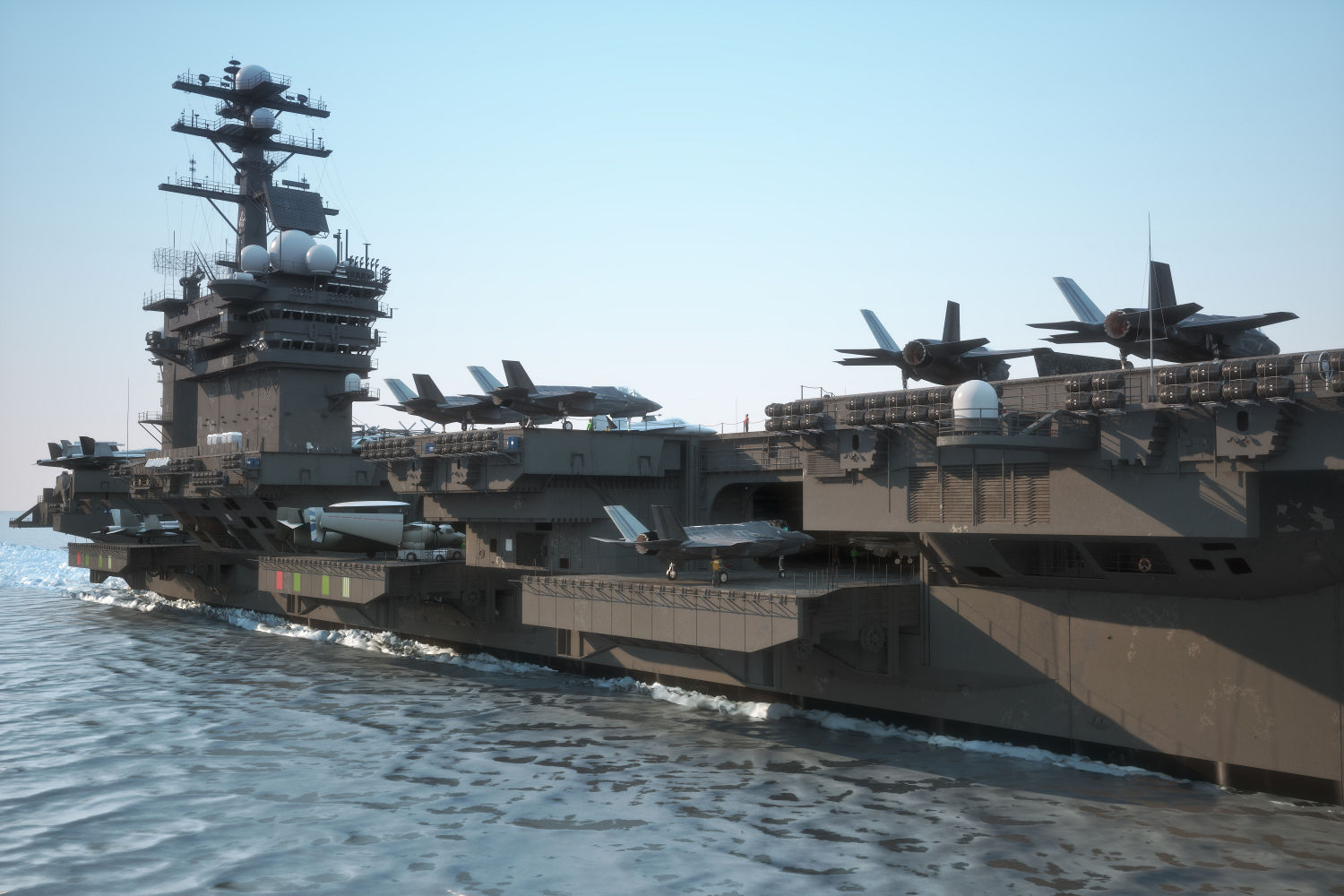 Military and Aerospace - aircraft carrier