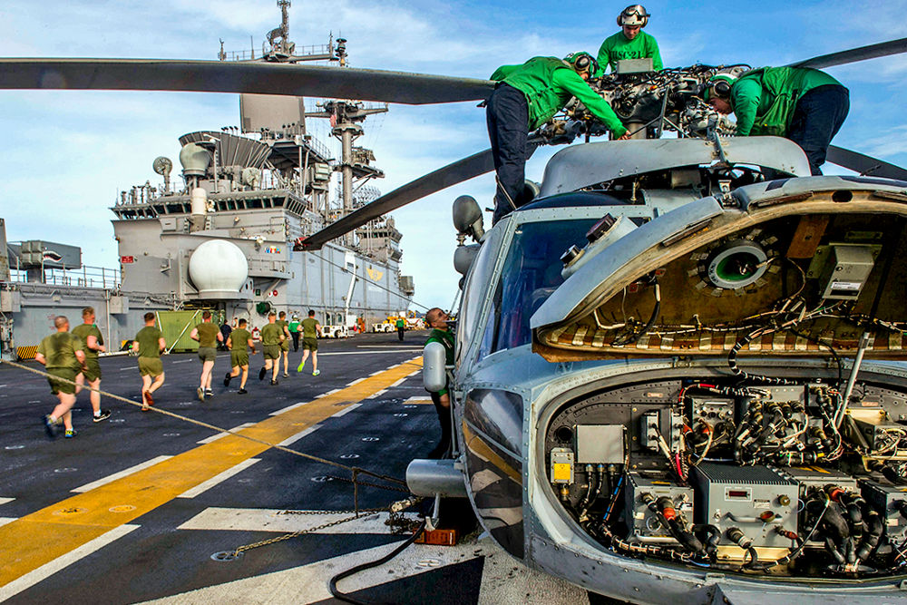 Military and Aerospace - Helicoptor repair